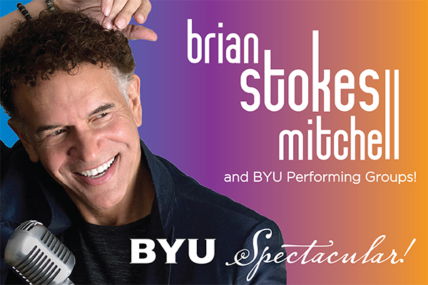 Brian Stokes Mitchell and BYU performing groups will perform in the 2021 BYU Spectacular.