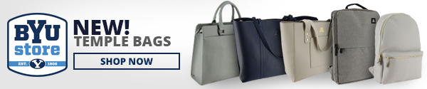 BYU Store New Temple Bags. Shop Now.