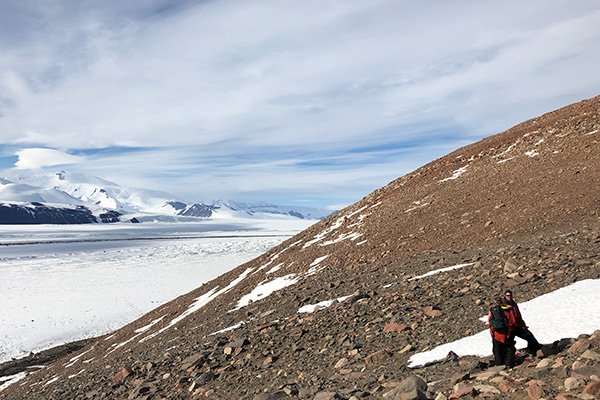 BYU's Byron Adams led colleagues to remote locations in the Shackleton Glacier region of Antarctica.