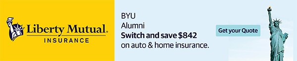 Liberty Mutual Insurance. BYU alumni switch and save $842 on auto & home insurance. Get your quote.