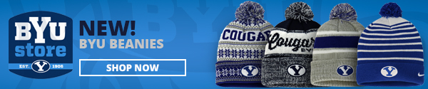 New BYU beanies, shop now at the BYU Store
