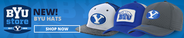 New BYU hats from the BYU Store. Shop Now.